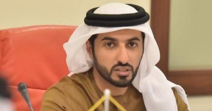 الشيخ راشد بن حميد يبارك تتويج النصر بكأس الخليج العربي