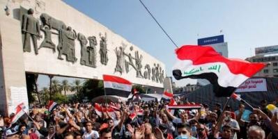 محتجو العراق يتعهدون بالصمود أمام تهديدات قادة الحشد الشعبي