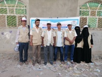 """بدعم """"اليونيسيف""""..حملة توعوية عن مخاطر الألغام بمديرية ردفان بلحج"""