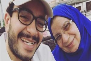 وفاة والدة الفنان المصري حسام داغر