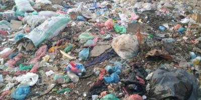 شكوى جماعية من انتشار القمامة في الحبيلين بردفان