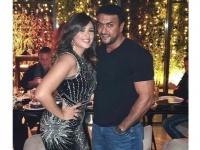 أحمد العوضي يحتفل بعد ميلاد ياسمين عبد العزيز بهذه الطريقة (صور)