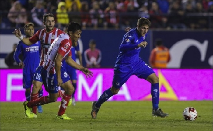أتلتيكو سان لويس يحقق انتصارا صعبا على كروز أزول في الدوري المكسيكي
