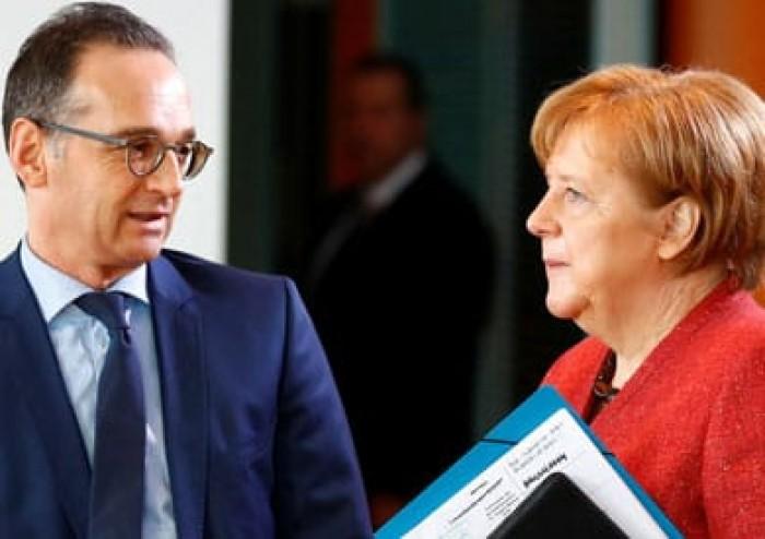 ميركل ووزير خارجيتها يجتمعان بحفتر والسراج قبيل انطلاق مؤتمر برلين