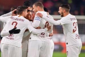 روما يهزم جنوى بثلاثية ويستعيد نغمة الفوز في الدوري الإيطالي