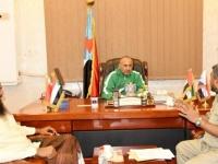 الرئيس الزُبيدي يوجه بتقديم الدعم اللازم لأبناء ميون