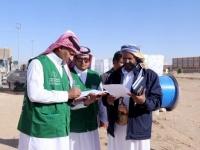 تفاصيل زيارة وفد البرنامج السعودي لمحافظة الجوف