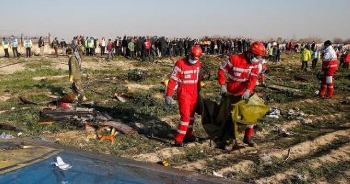 الطيران المدني الإيرانية: الطائرة الأوكرانية تم استهدافها بصاروخين