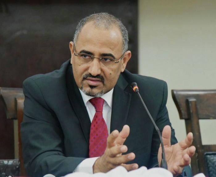 الزُبيدي: هدفنا استعادة دولة الجنوب وعاصمتها عدن