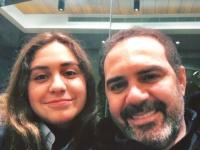 وائل جسار ينشر صورته مع نجلته في آخر ظهور له
