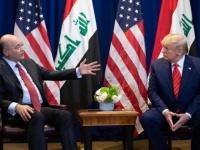 برهم صالح يبحث مع ترامب وجود القوات الأجنبية بالعراق