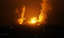 قصف إسرائيلي يستهدف متسللين شمالي غزة