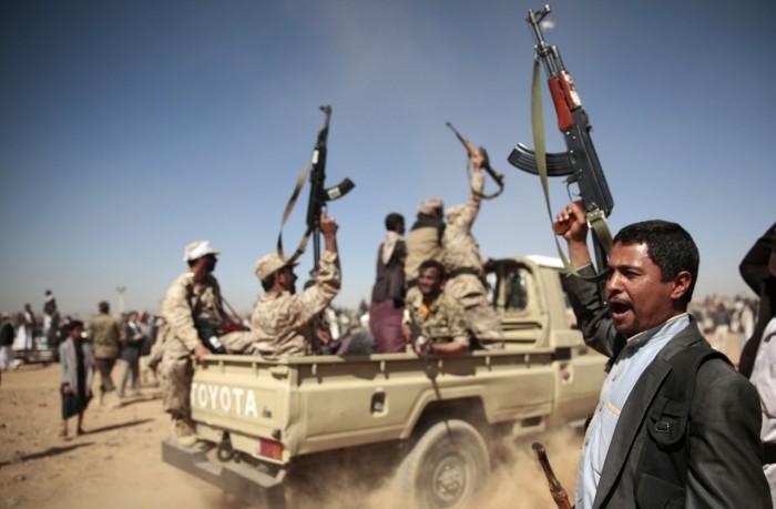 """""""جريمة سعوان"""" الحوثية.. المليشيات تُرهب السكان"""