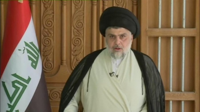 مقتدى الصدر يطالب بإغلاق كل القواعد العسكرية الأميركية في العراق