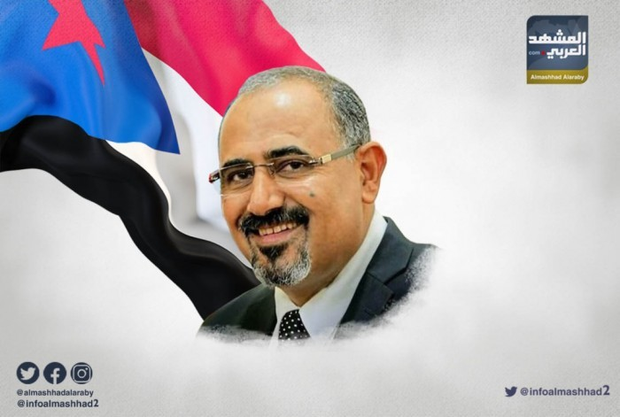 سياسي سعودي مُشيدًا بالرئيس الزُبيدي: سياسي من الطراز الأول