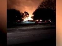 أمريكا.. انفجار في أحد المباني الصناعية في مدينة هيوستن بولاية تكساس