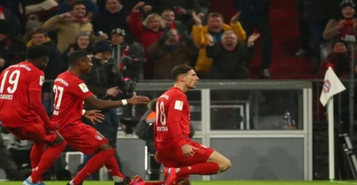 بايرن يسحق شالكه ويتقدم لوصافة الدوري الألماني