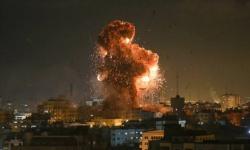 إسرائيل تشن غارات على عدة مواقع جنوبي غزة