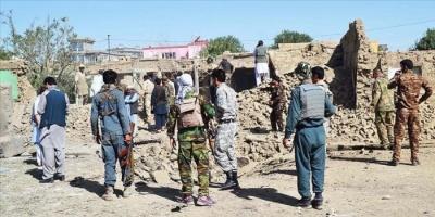 إصابة 20 شخصا على الأقل جراء انفجار قنابل يدوية في أفغانستان