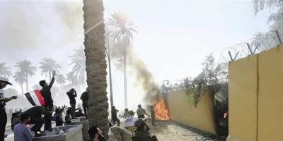 صحفي عن استهداف السفارة الأمريكية ببغداد: قادة المليشيات اشتاقوا للقاء سليماني