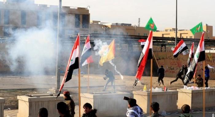 بعد استهداف سفارة واشنطن ببغداد.. سياسي يُطالب أمريكا بقصف إيران
