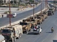 رتل عسكري تركي يدخل سوريا عبر معبر كفرلوسين شمال إدلب