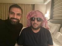 أمير طعيمة يطمئن على صحة تركي آل الشيح ويوجه له رسالة شكر