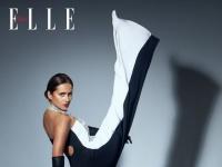نيللي كريم تتألق في أحدث إطلالتها لصالح Elle Arabia