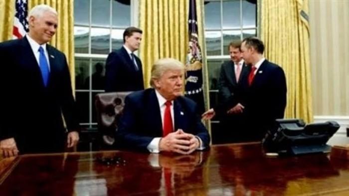 مسؤولون في الإدارة الأميركية: ترامب يقترح حل الدولتين لإسرائيل والفلسطينيين