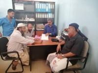 رئيس انتقالي ردفان يبحث احتياجات مستشفى المديرية