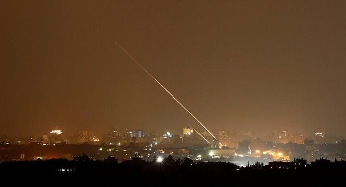 إطلاق صاروخ من غزة على مستوطنة إسرائيلية