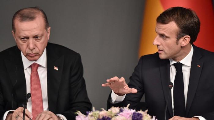 تركيا ترد على اتهامات الرئيس الفرنسي بشأن ليبيا