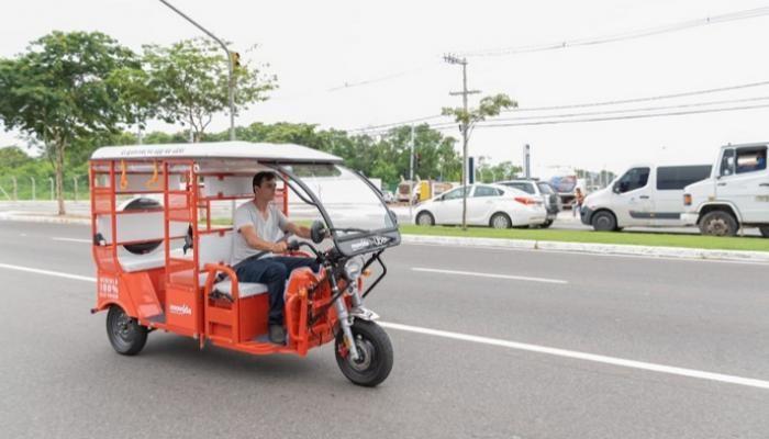 """في البرازيل.. """"أوبر"""" تطلق خدمة """"التوك توك"""" الكهربائي"""