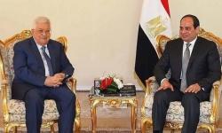 """السيسي يلتقي أبومازن بالقاهرة على هامش """"الوزاري الطارئ"""""""