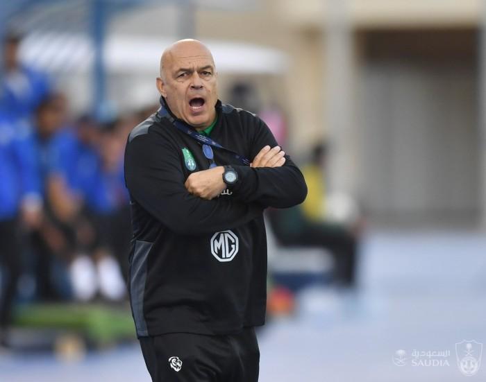 جروس حزين بعد تعادل الأهلي مع العدالة في الدوري السعودي