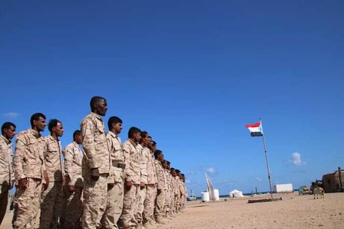 كتيبة حرس السواحل بسقطرى تعلن انضمامها للقوات المسلحة الجنوبية