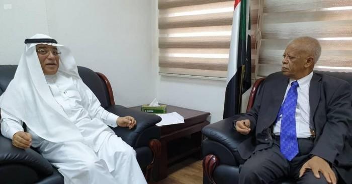 وكيل الخارجية السودانية يلتقي سفير خادم الحرمين الشريفين لدى السودان
