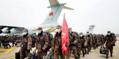 """فرق طبية من الجيش الصيني تصل معقل """"كورونا"""" لإدارة مستشفى ووهان"""