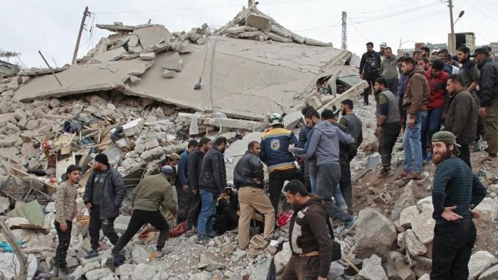 الاتحاد الأوروبي يطالب بوقف الهجمات في إدلب والسماح بدخول مساعدات إنسانية