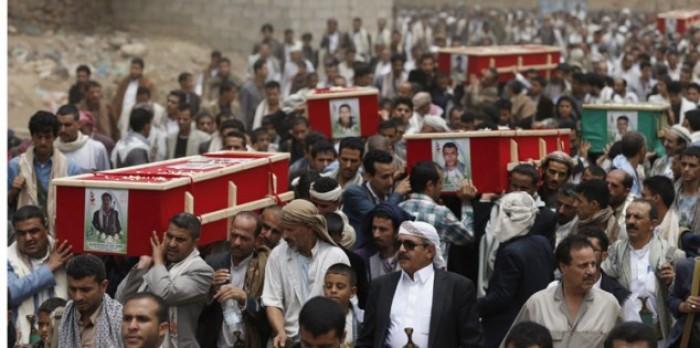"""""""إب"""" تُشيِّع قتلى الحوثي.. الجبهات تشهد على انكسار المليشيات"""