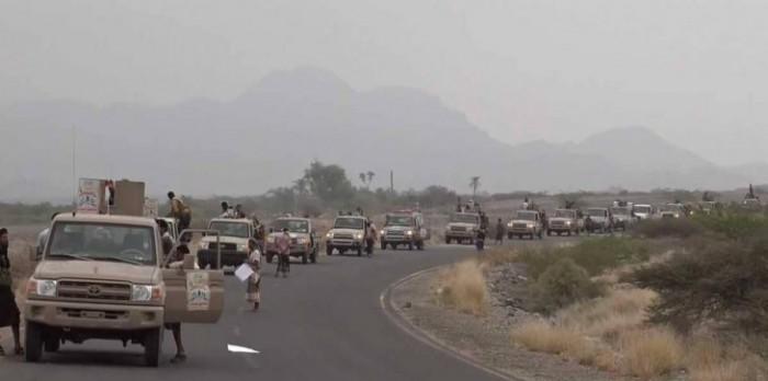 مليشيا الحوثي تتراجع في البرح
