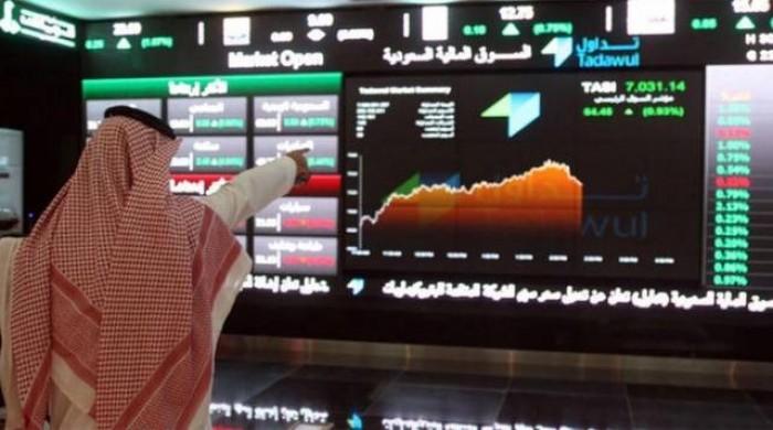 أسهم البورصة السعودية  تتراجع للأسبوع الثالث