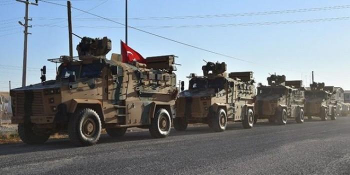 رتل عسكري تركي ضخم يدخل الأراضي السورية