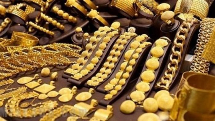 الذهب يواصل انخفاضه بالأسواق اليمنية اليوم السبت