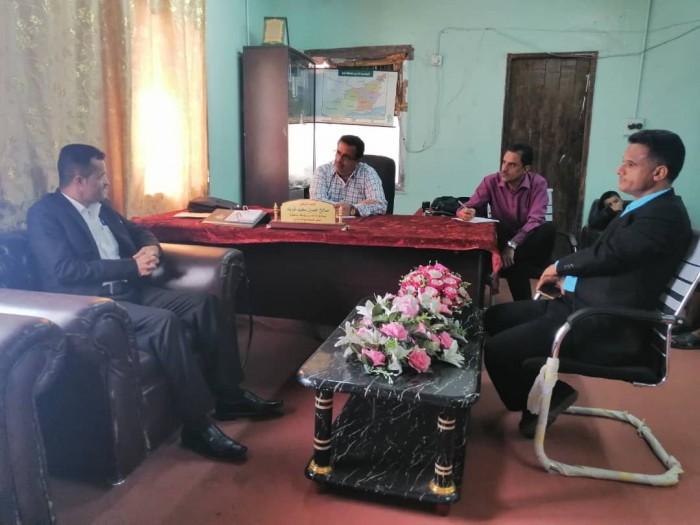 إطلاق مشروع التغذية المدرسي في مدارس ردفان بلحج