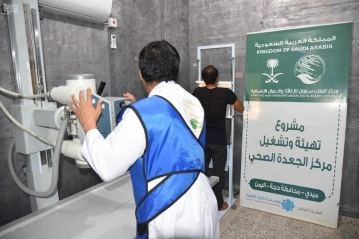 السعودية توفر خدمات طبية لـ3300 مريض في حجة