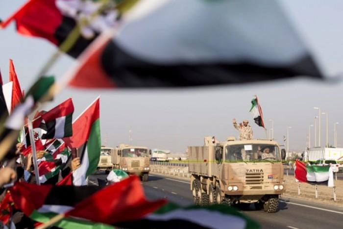 """هاشتاج """"الصقور المخلصين"""" يحتفي بجنود الإمارات البواسل العائدين من اليمن"""