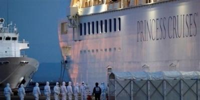 """لعدم إصابتهم بـ""""كورونا"""".. رفع الحجر الصحي عن ركاب سفينة سياحية بهونج كونج"""