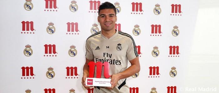 كاسميرو أفضل لاعب في يناير بريال مدريد