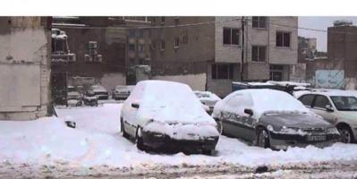 ظاهرة نادرة تشهدها العراق.. تساقط الثلوج على بغداد